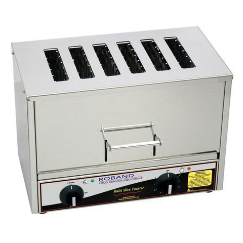 Roband 6 Slice Slot Toaster TC66