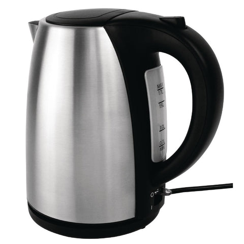 Apuro Stainless Steel Kettle 1.7Ltr