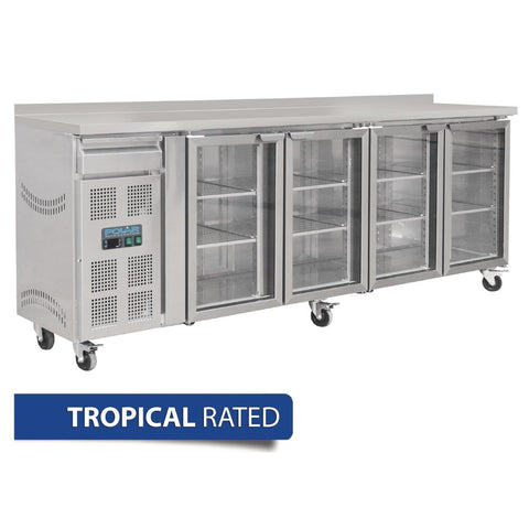 Polar 4 Door Premium Bar Fridge