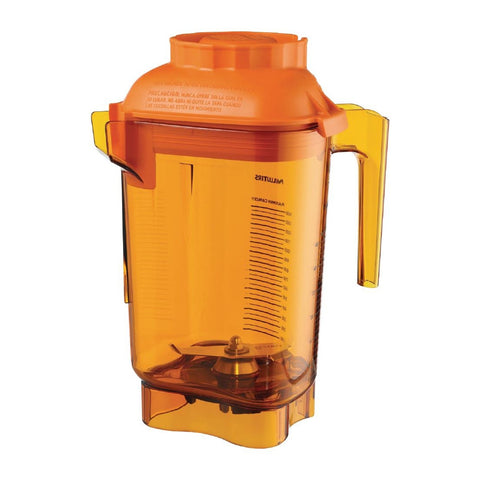 Vitamix Advance Orange Jug and Blade Single Piece Lid VM58990