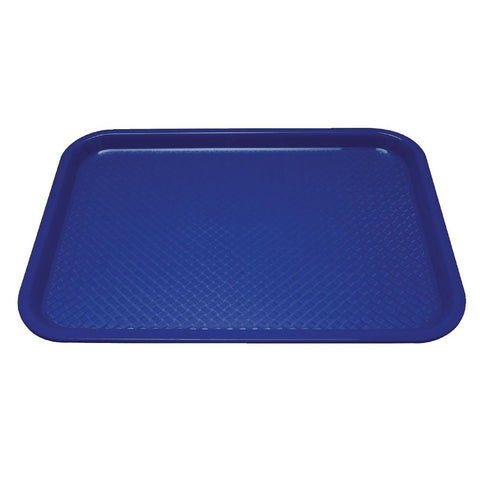 Kristallon Polypropylene Foodservice Tray 415 x 305mm Blue