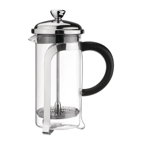Olympia Cafetiere Chrome Finish 1Ltr