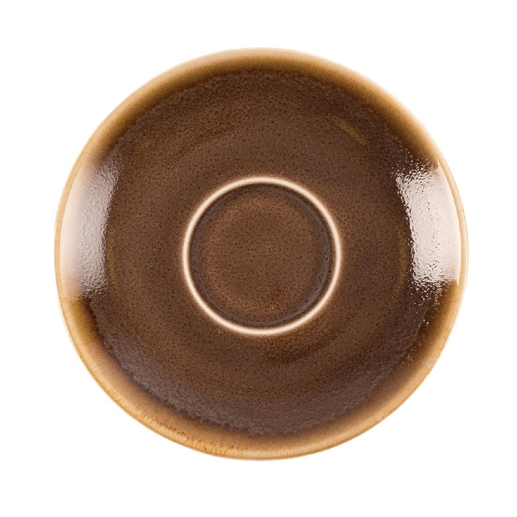 Olympia Kiln Espresso Saucer Bark (Pack of 6)