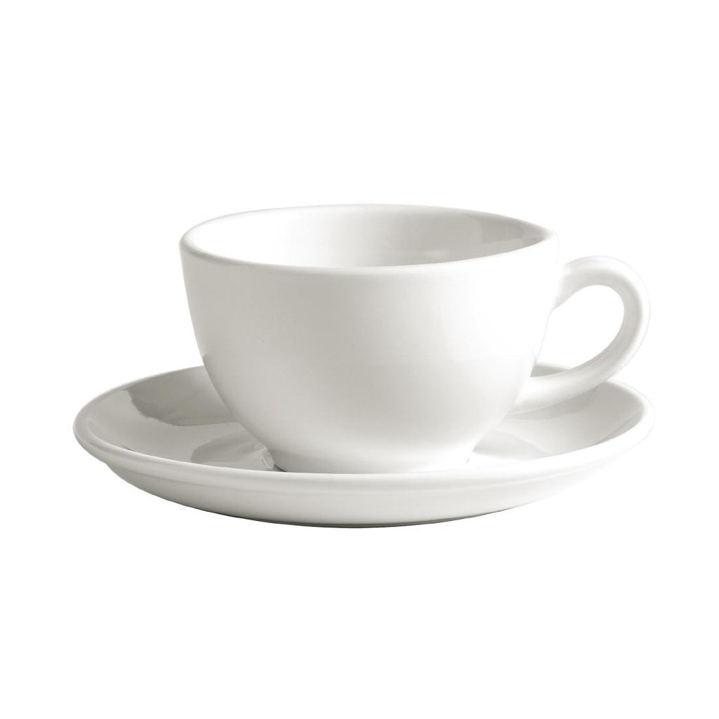 Australian Fine China Bistro Cappuccino Cups 250ml (Pack of 36)