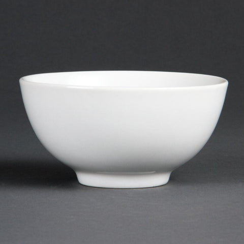 Olympia Whiteware Rice Bowls 130mm (Pack of 12)