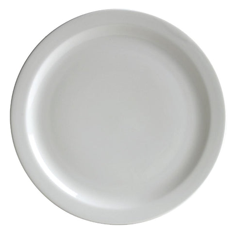 Australian Fine China Flinders Narrow Rim Plate 230mm (Pack of 12)