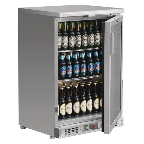 Polar Bar Display Cooler Stainless Steel 104 Bottles