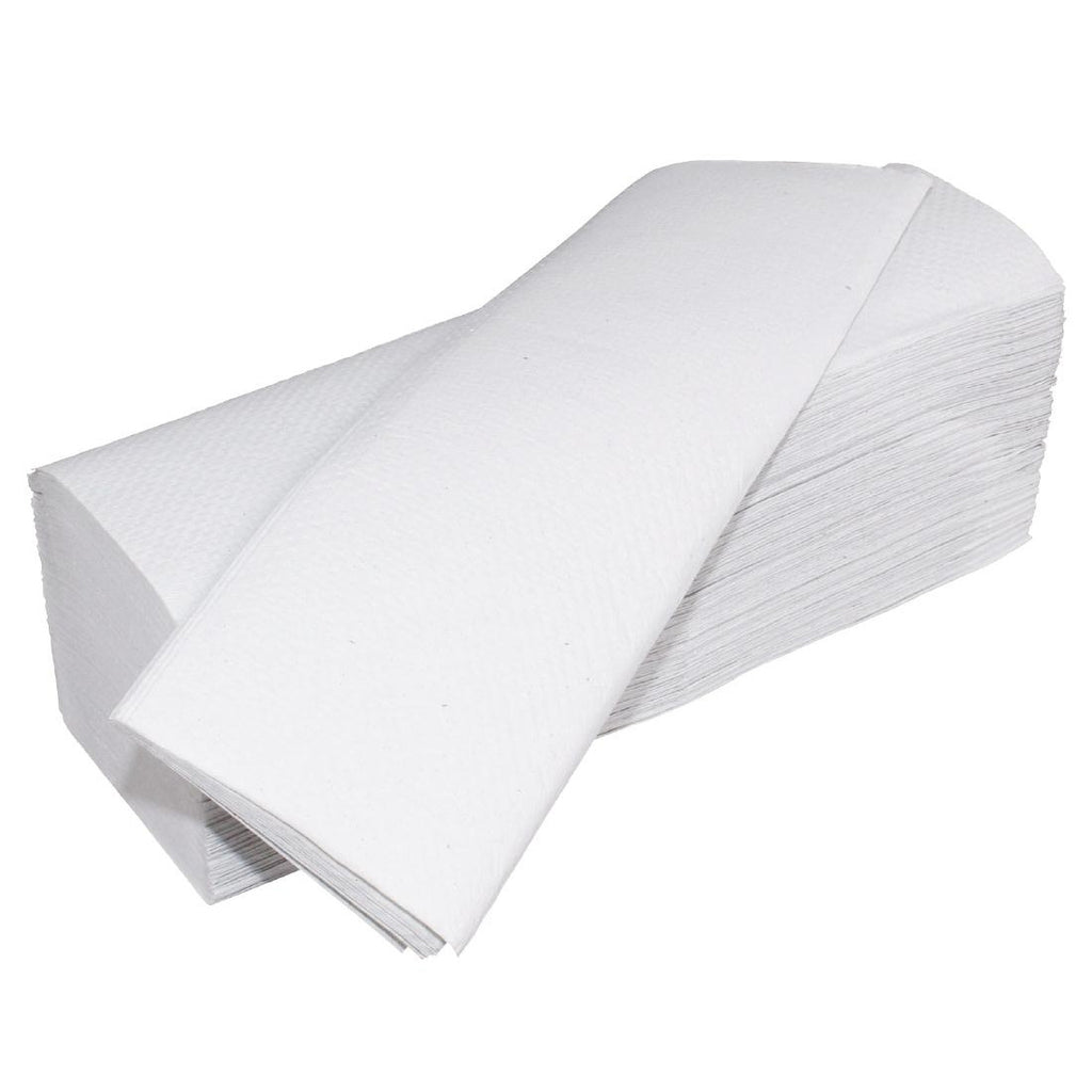 Jantex Slim Fold Hand Towel Recycled (Pack of 4000)