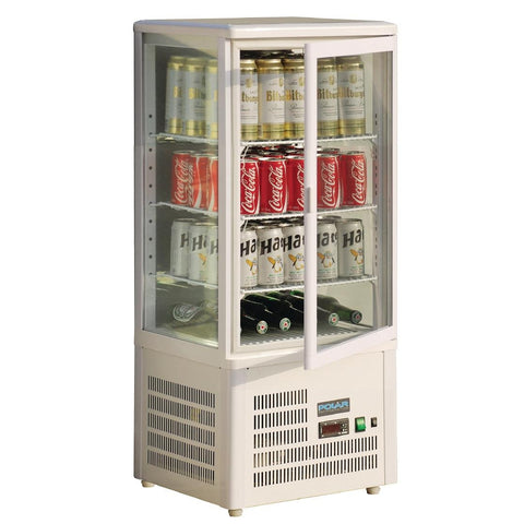 Polar Chilled Display Cabinet 68Ltr