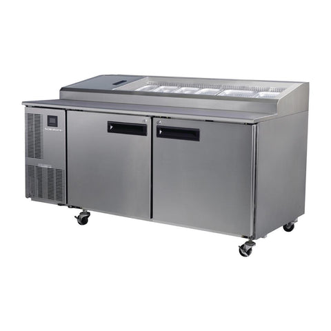 Skope Pegasus 2 Door Gastronorm Pizza Prep Fridge PG500