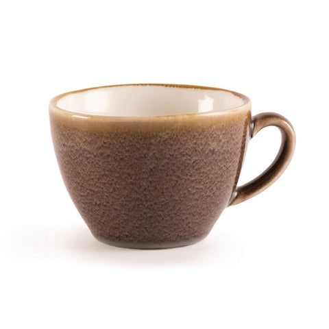 Olympia Kiln Cappuccino Cup Bark 340ml (Pack of 6)