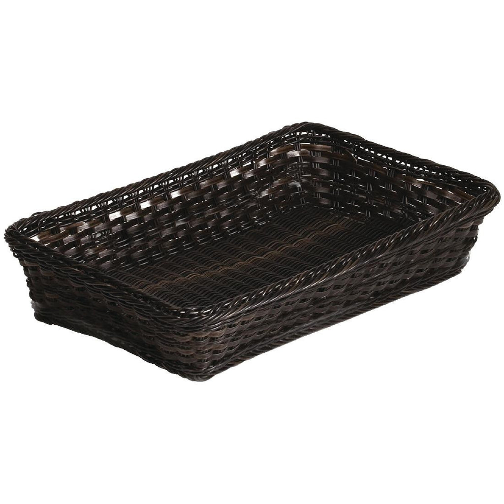 APS Polyratten Basket Broiwn GN 1/1 100mm