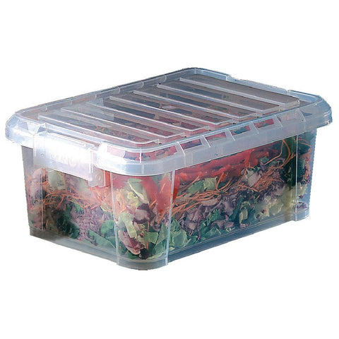 Araven Food Storage Box with Lid 9Ltr. Ideal for commercial food storage