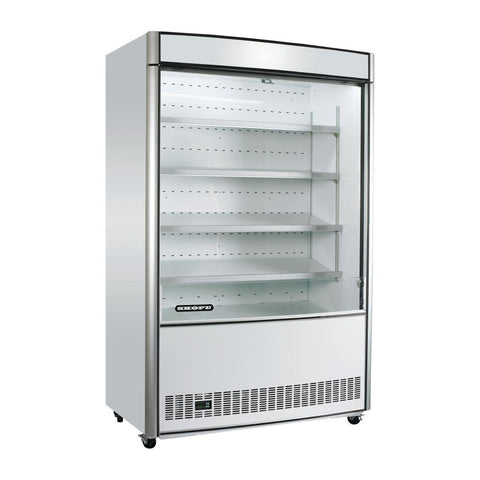 Skope Open Deck Reach In Display Fridge OD1100