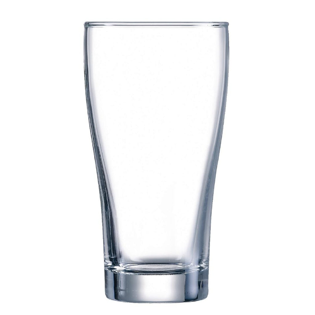 Arcoroc Conical Beer Glasses 285ml (Pack of 48)