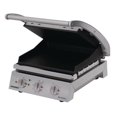 Roband Grill Station Smooth Plates GSA610ST