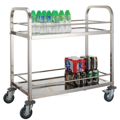950mm Stainless Steel Kitchen Trolley