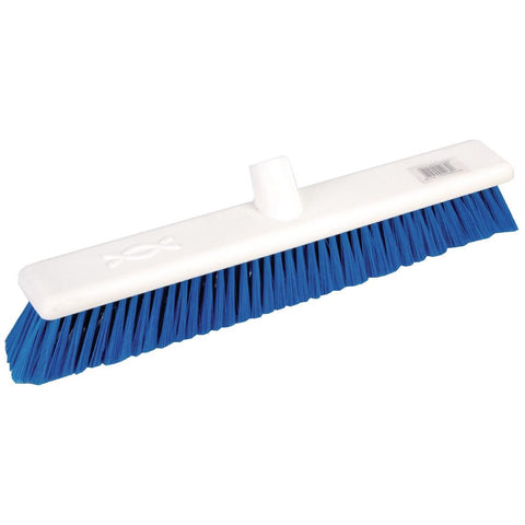 Jantex Soft Washable Broomhead Blue 457mm