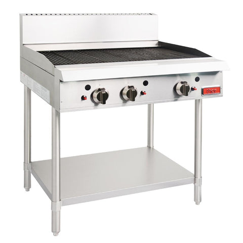 Thor Natural Gas 3 Burner Char Grill
