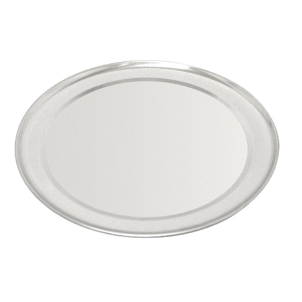 Aluminium Wide Rimmed Pizza Tray 355mm