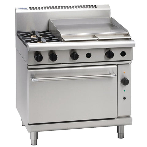 Waldorf by Moffat 2 Burner Natural Gas Convection Range and Griddle RN8616GC