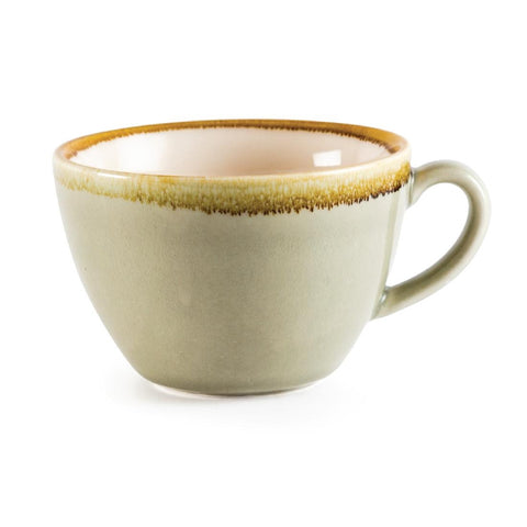 Olympia Kiln Cappuccino Cup Moss 340ml (Pack of 6)