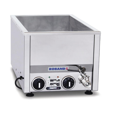 Roband Counter Top Bain Marie Thermostat Control BM21T