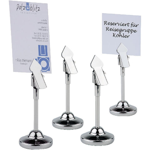 Table Number Stands (Pack of 4)