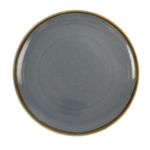 Olympia Kiln Round Plate Ocean 280mm (Pack of 4)