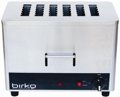 Birko 6 Slice Commercial Toaster