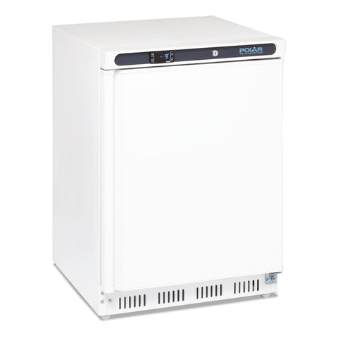 Polar Undercounter Freezer 140Ltr White