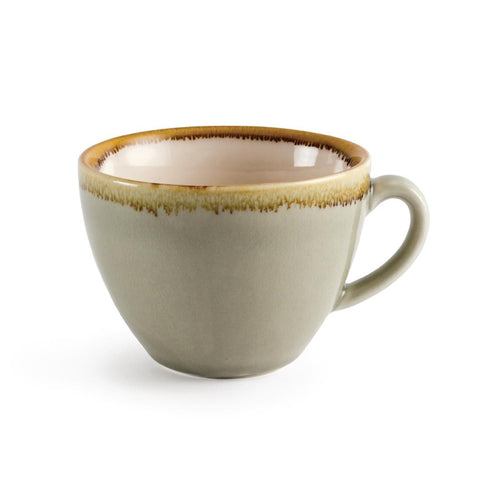Olympia Kiln Cappuccino Cup Moss 230ml (Pack of 6)
