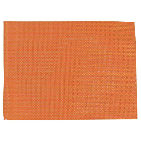 APS PVC Orange Placemat (Pack of 6)