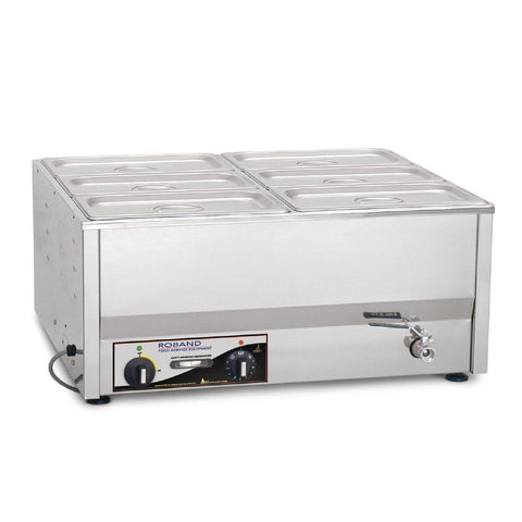 Roband Counter Top Bain Marie BM4C