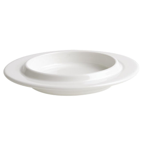 Australian Fine China Flinders Ableware Plate 230mm (Pack of 18)