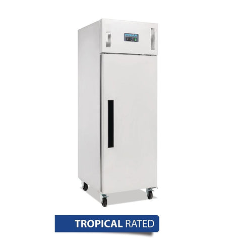 Polar Upright Fridge 600Ltr Stainless Steel