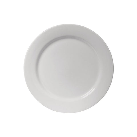 Australian Fine China Flinders Wide Rim Plate 230mm (Pack of 12)
