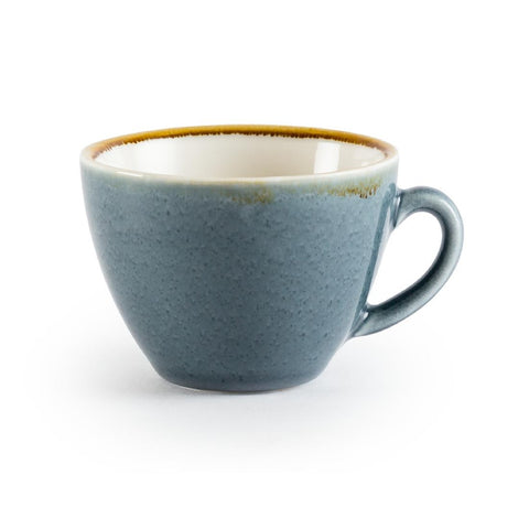Olympia Kiln Cappuccino Cup Ocean 340ml (Pack of 6)