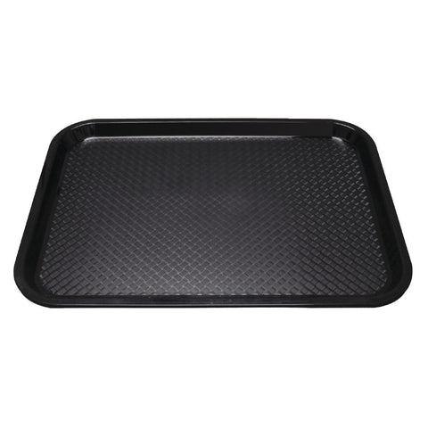 Kristallon Polypropylene Foodservice Tray 415 x 305mm Black