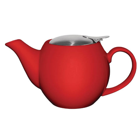 Olympia Cafe Teapot 510ml Red