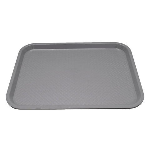 Kristallon Polypropylene Foodservice Tray 415 x 305mm Grey