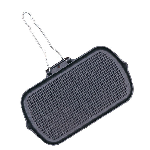 Vogue Cast Iron Grill Pan