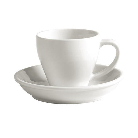 Australian Fine China Bistro Espresso Saucers 134mm (Pack of 36)