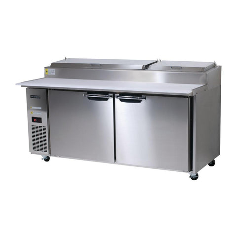 Skope Centaur 2 Door Pizza Prep Counter Fridge