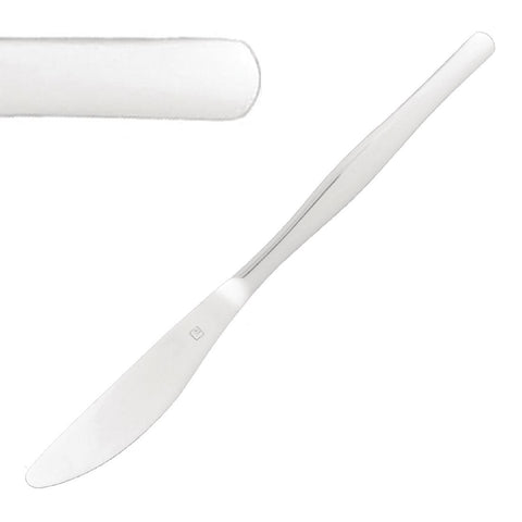 Tablekraft Princess Table Knife 18/10 (Pack of 12)