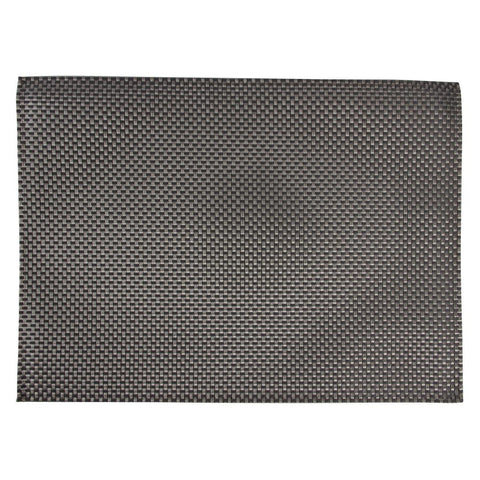 APS PVC Silver And Grey Placemat (Pack of 6)