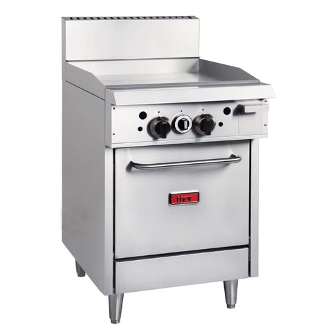 Thor 24in Freestanding Oven Range With Griddle LPG