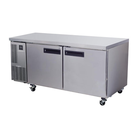 Skope Pegasus 2 Door Gastronorm Counter Fridge PG500