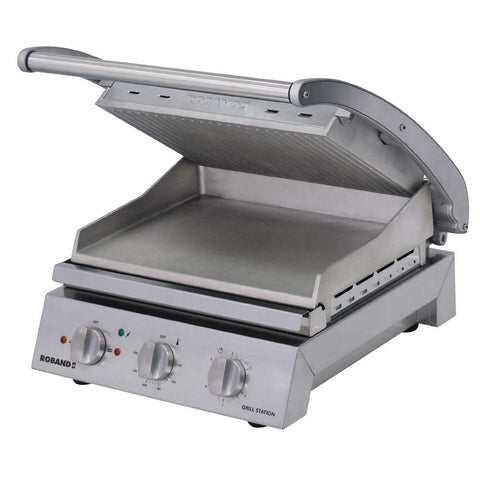 Roband Grill Station Ribbed Plates GSA610R