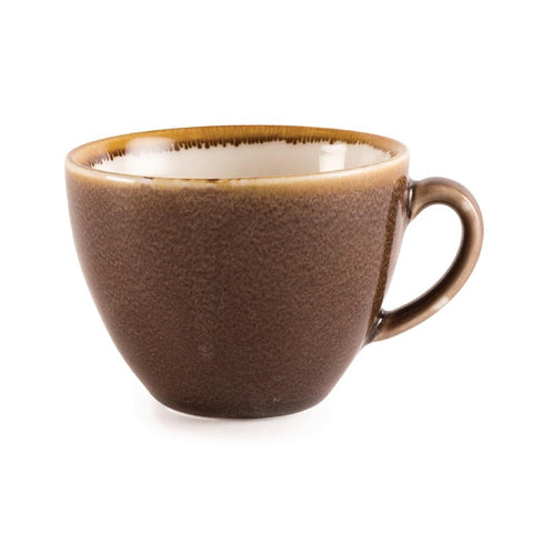 Olympia Kiln Cappuccino Cup Bark 230ml (Pack of 6)